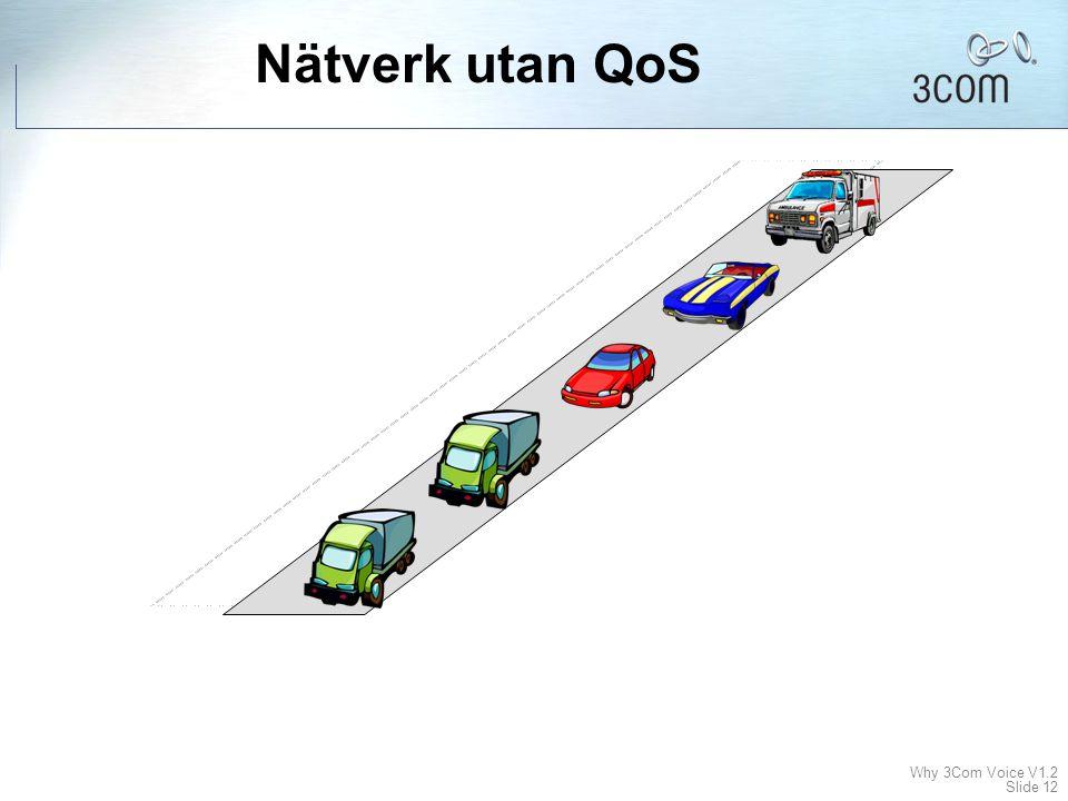 Nätverk utan QoS