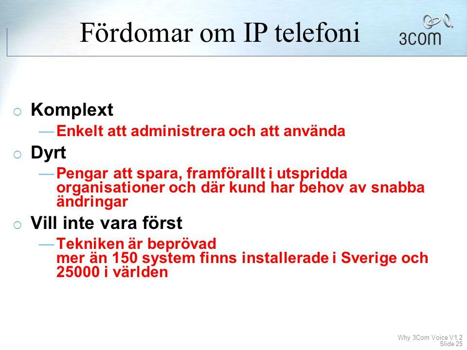 Fördomar om IP telefoni