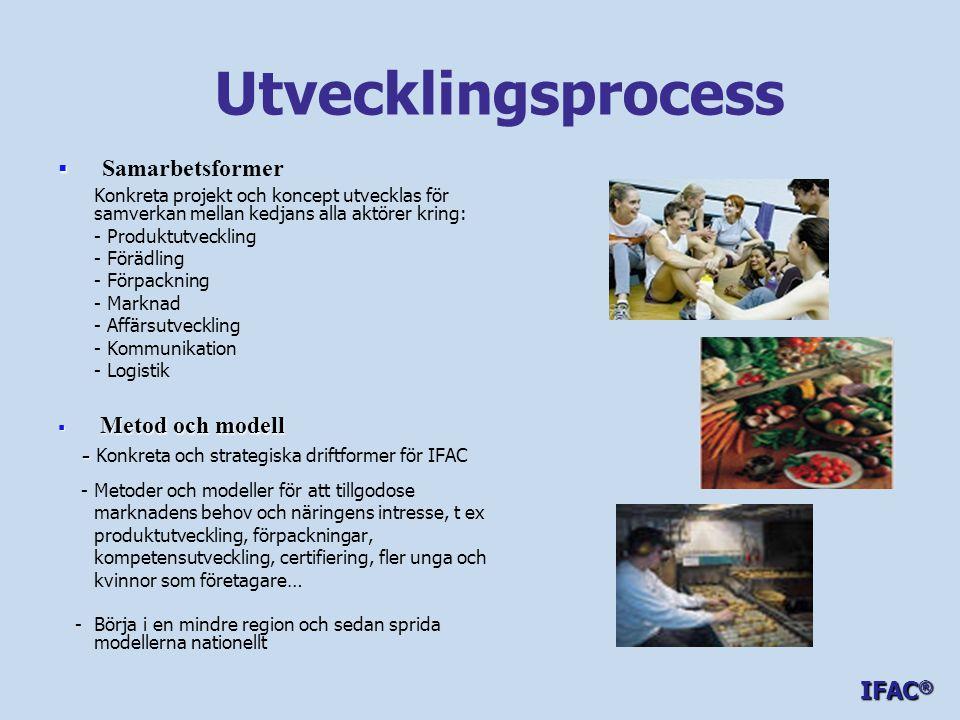 Utvecklingsprocess Samarbetsformer Metod och modell