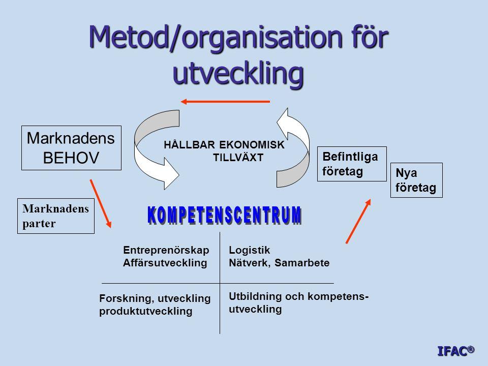 Metod/organisation för utveckling