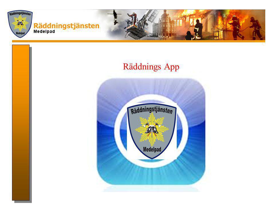 Räddnings App VÄM BRÄNLE