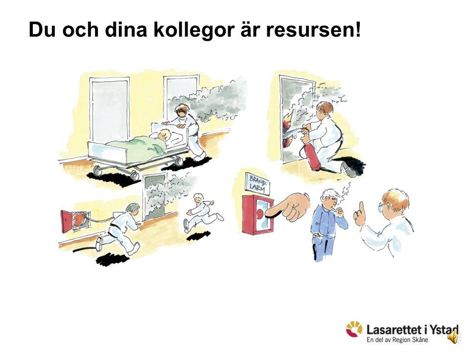 Du och dina kollegor är resursen!