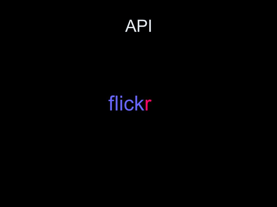 API flickr