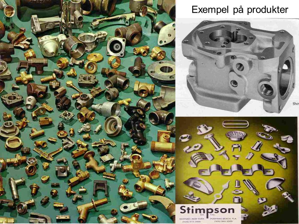 Exempel på produkter