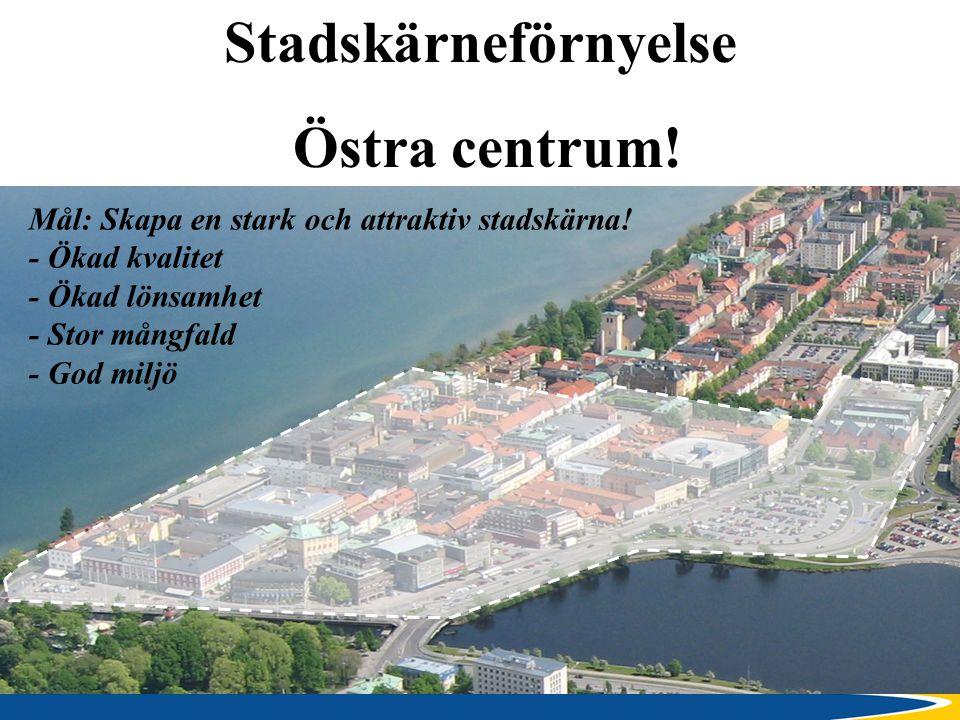 Stadskärneförnyelse Östra centrum!