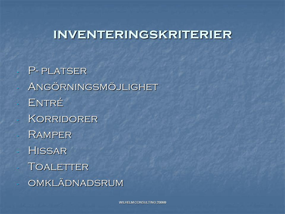 inventeringskriterier