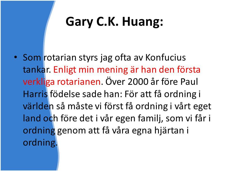 Gary C.K. Huang: