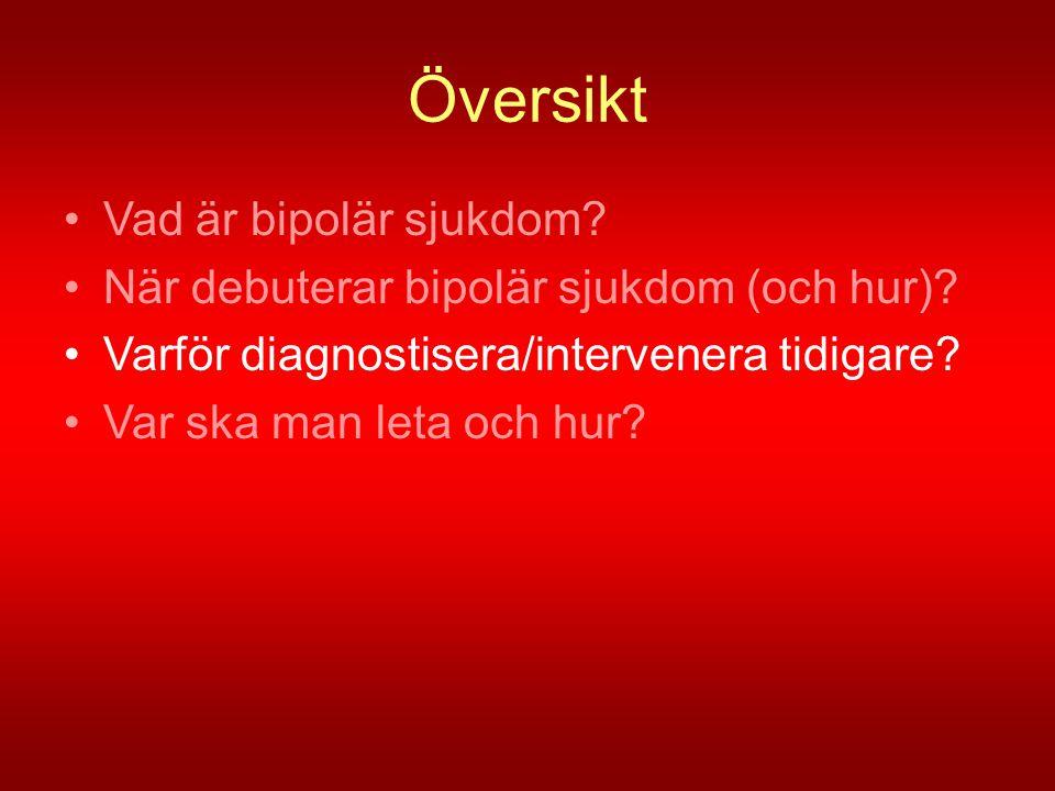 Översikt Vad är bipolär sjukdom