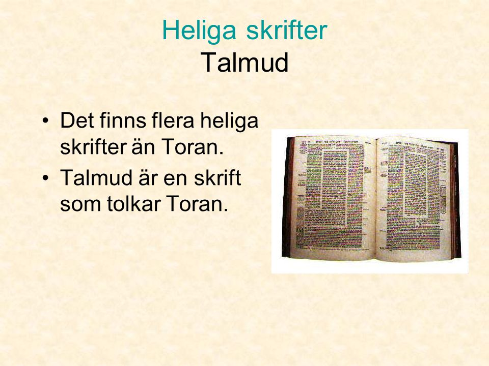 Heliga skrifter Talmud