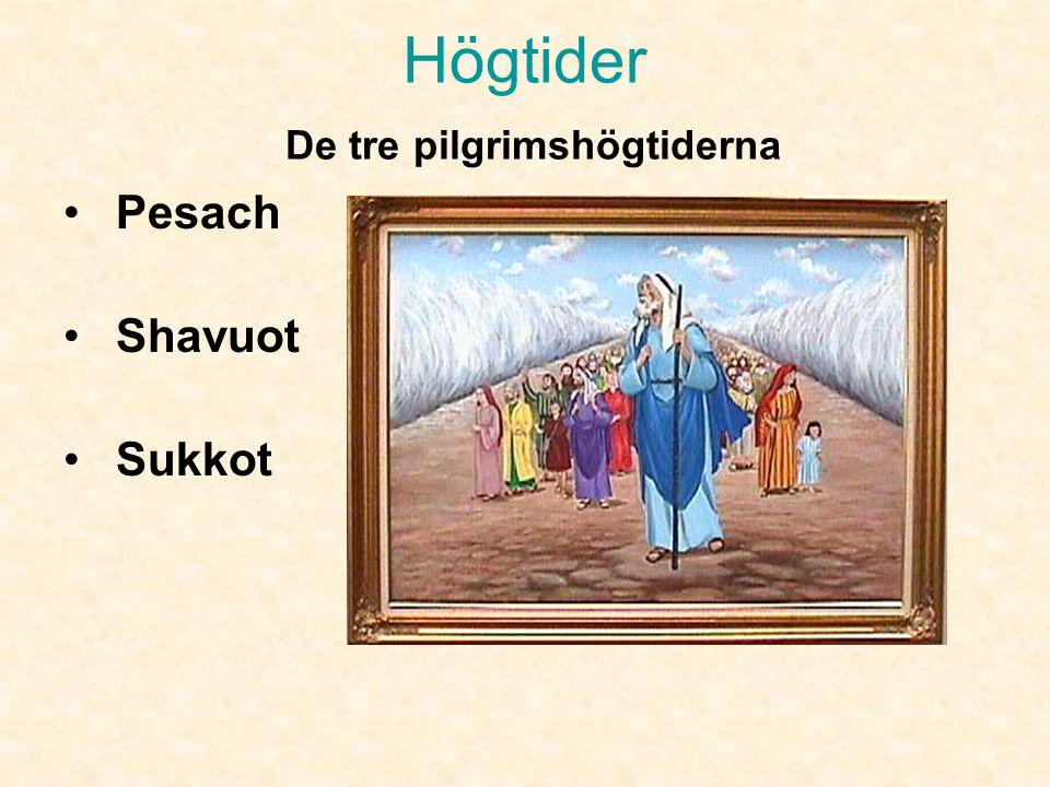 Högtider De tre pilgrimshögtiderna
