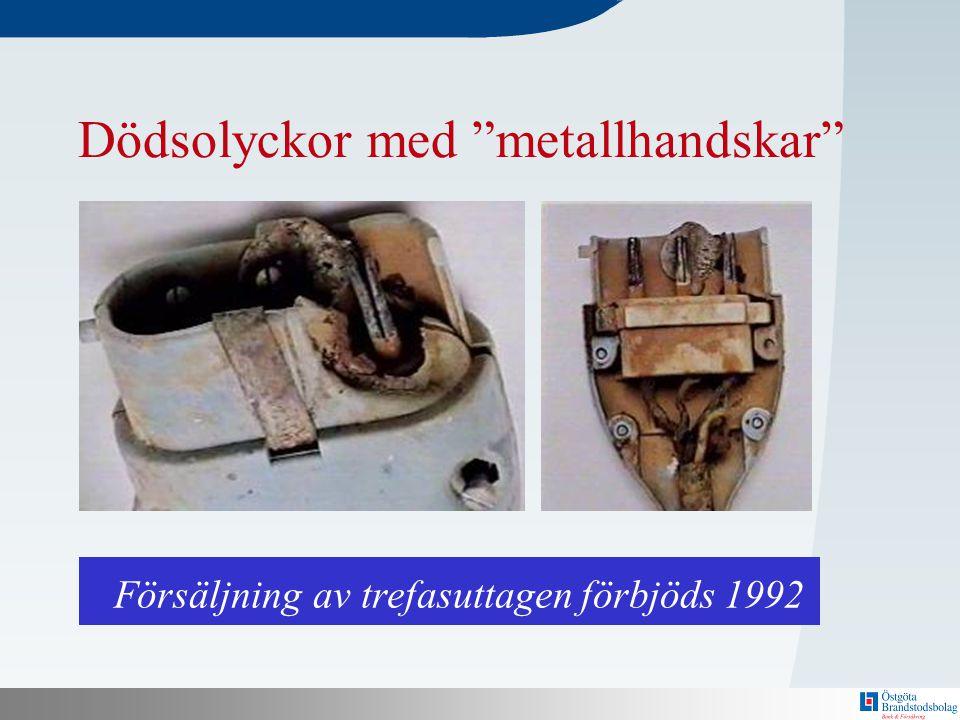 Försäljning av trefasuttagen förbjöds 1992