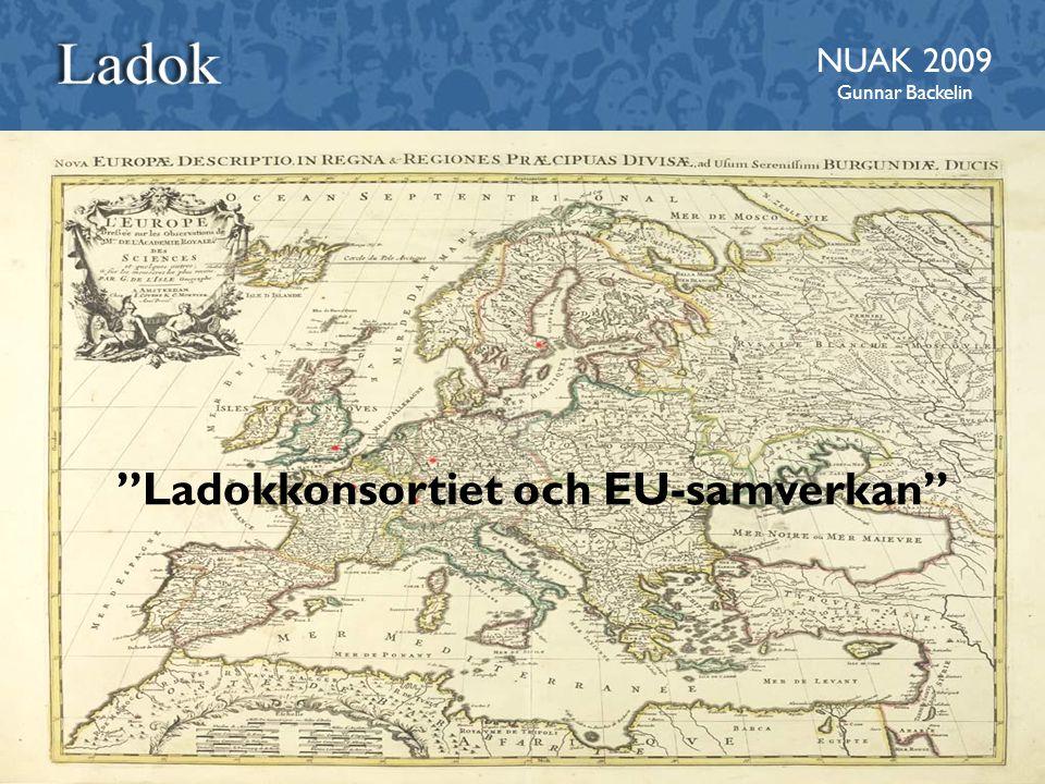 Ladokkonsortiet och EU-samverkan