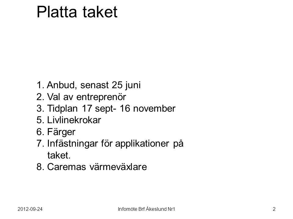 Infomöte Brf Åkeslund Nr1