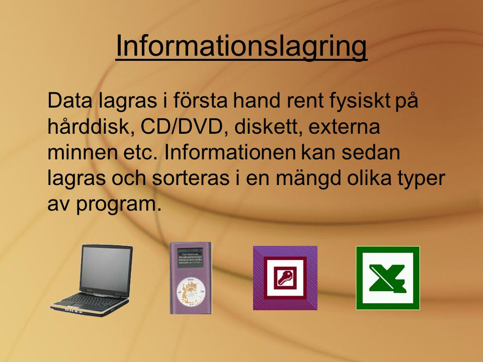 Informationslagring