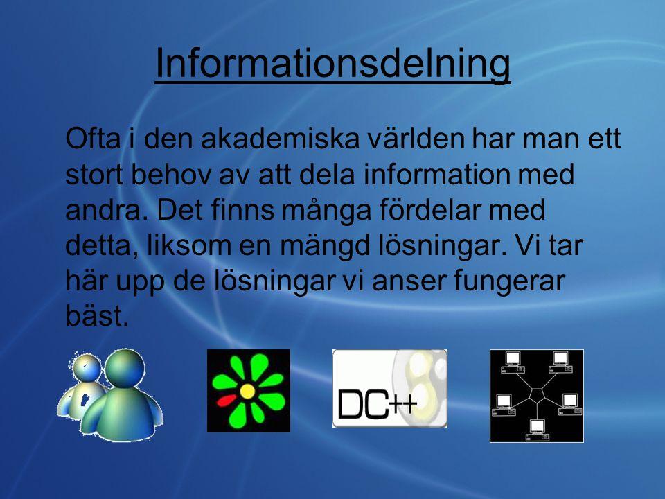 Informationsdelning