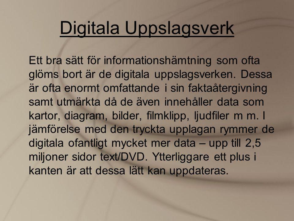 Digitala Uppslagsverk