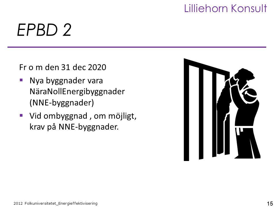 EPBD 2 Fr o m den 31 dec 2020.