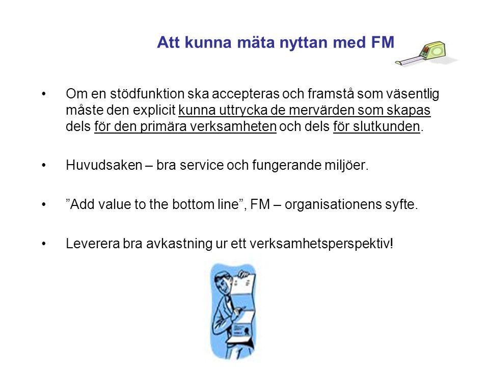 Att kunna mäta nyttan med FM