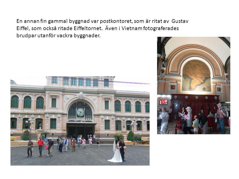 En annan fin gammal byggnad var postkontoret, som är ritat av Gustav Eiffel, som också ritade Eiffeltornet.