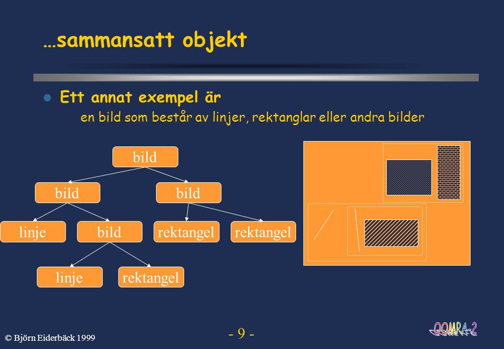 …sammansatt objekt Ett annat exempel är bild linje rektangel