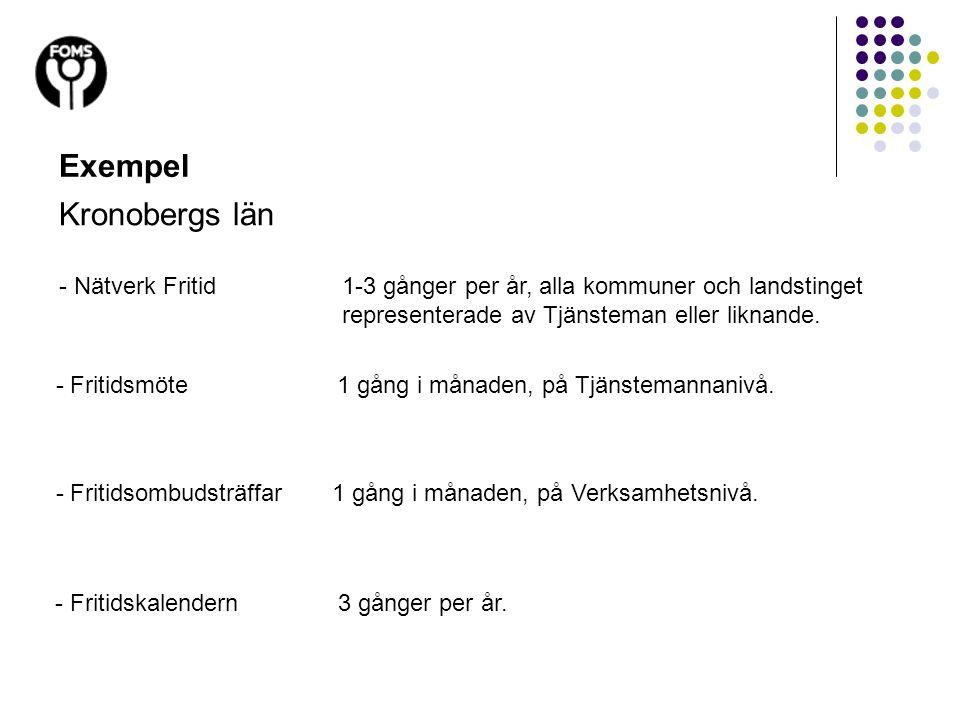 Exempel Kronobergs län