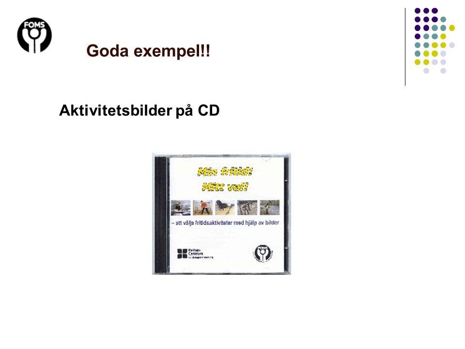 Goda exempel!! Aktivitetsbilder på CD 13