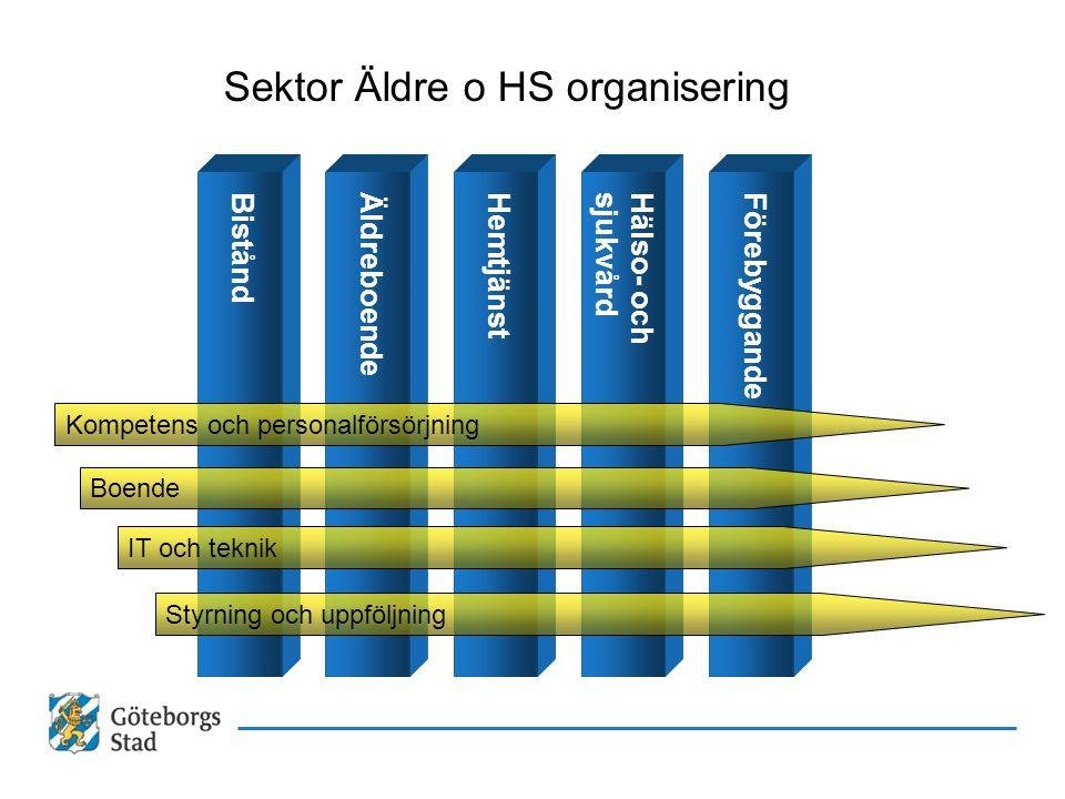 Sektor Äldre o HS organisering