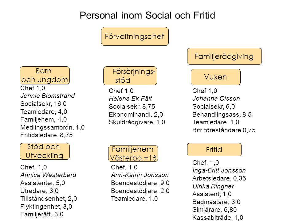 Personal inom Social och Fritid