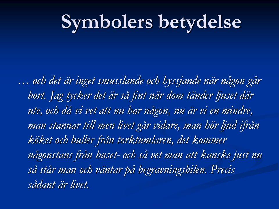 Symbolers betydelse