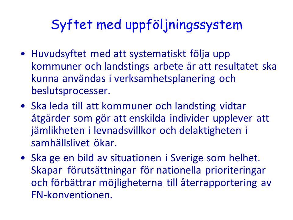Syftet med uppföljningssystem