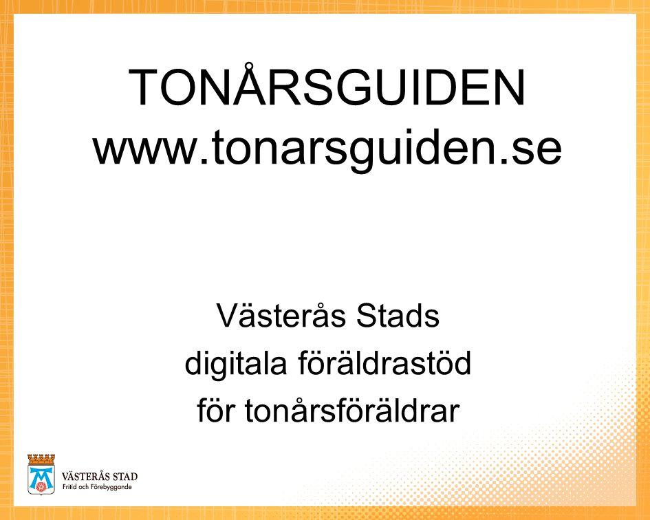 TONÅRSGUIDEN www.tonarsguiden.se