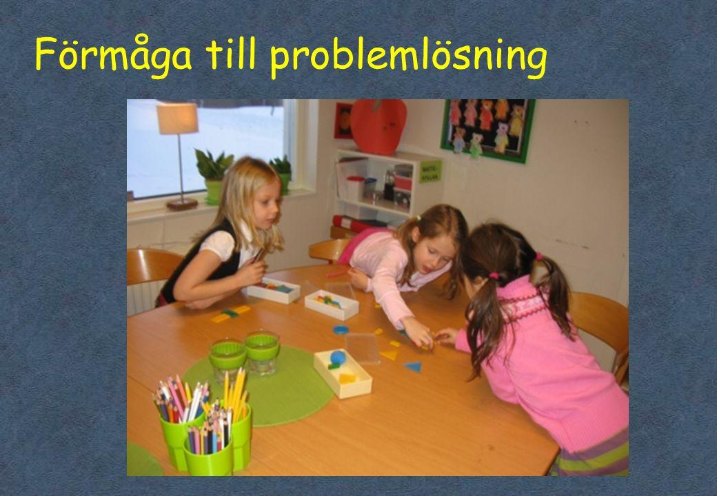 Förmåga till problemlösning