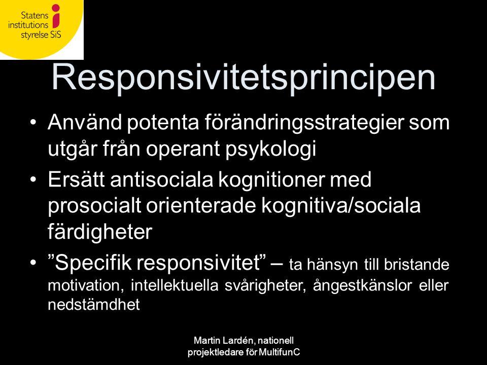 Responsivitetsprincipen