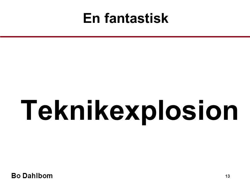 En fantastisk Teknikexplosion