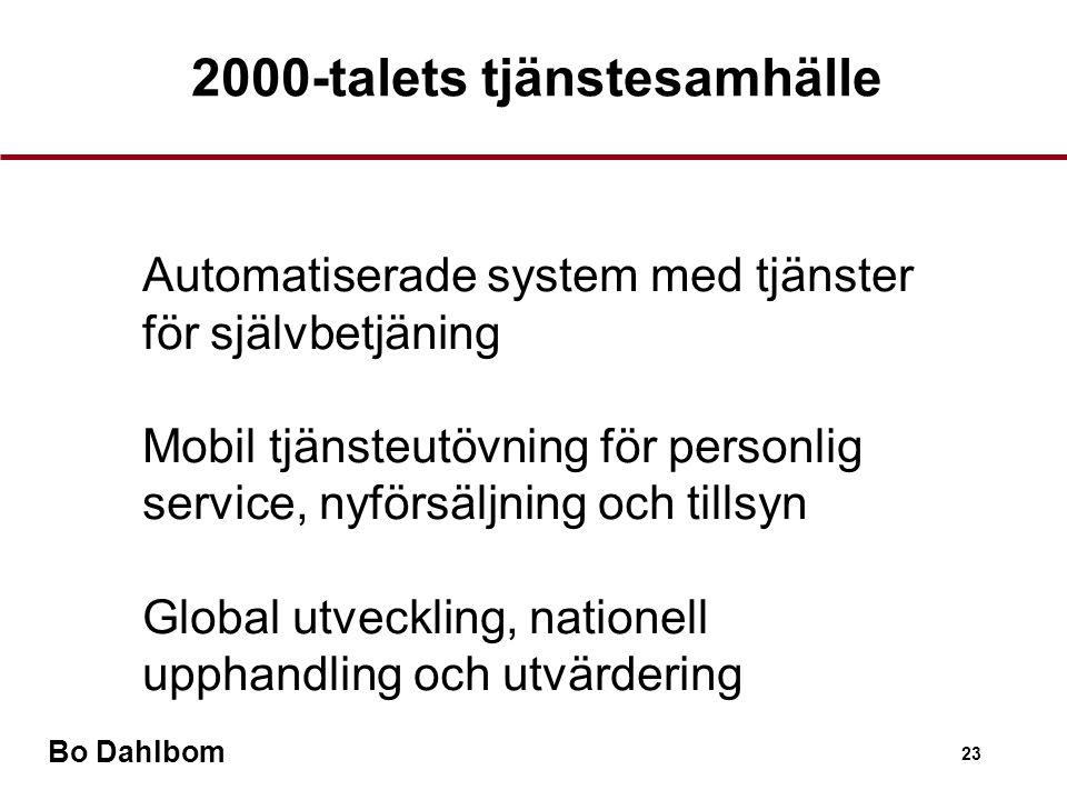 2000-talets tjänstesamhälle