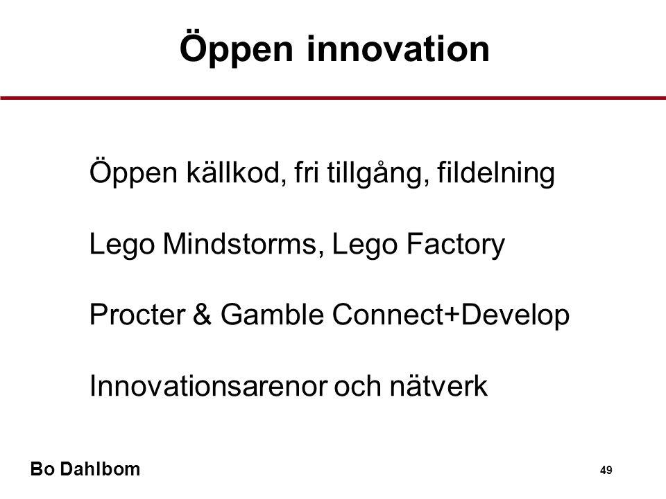 Öppen innovation Öppen källkod, fri tillgång, fildelning