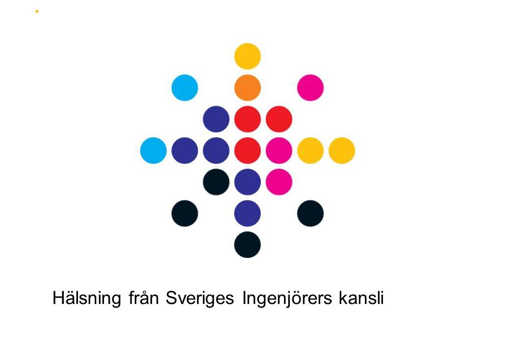 Hälsning från Sveriges Ingenjörers kansli