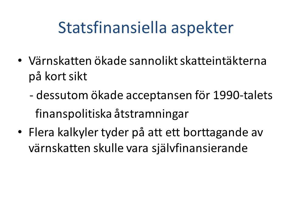 Statsfinansiella aspekter