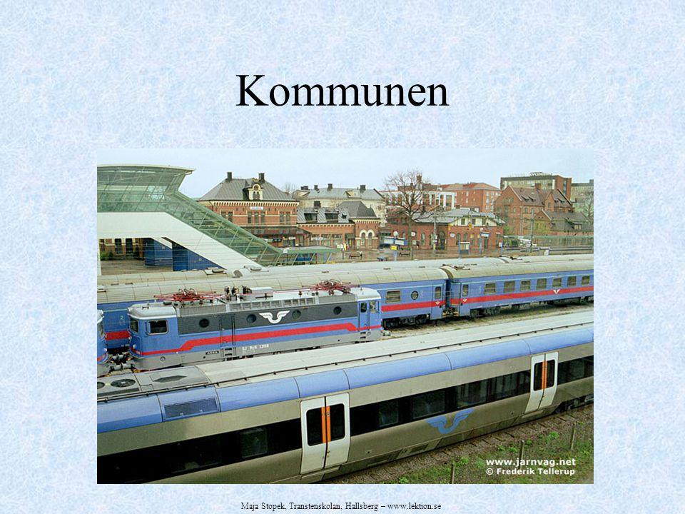 Kommunen Maja Stopek, Transtenskolan, Hallsberg – www.lektion.se