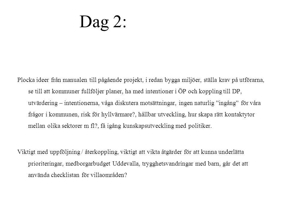 Dag 2: