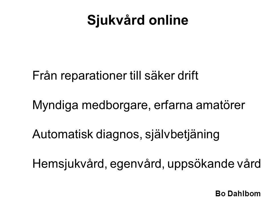 Sjukvård online