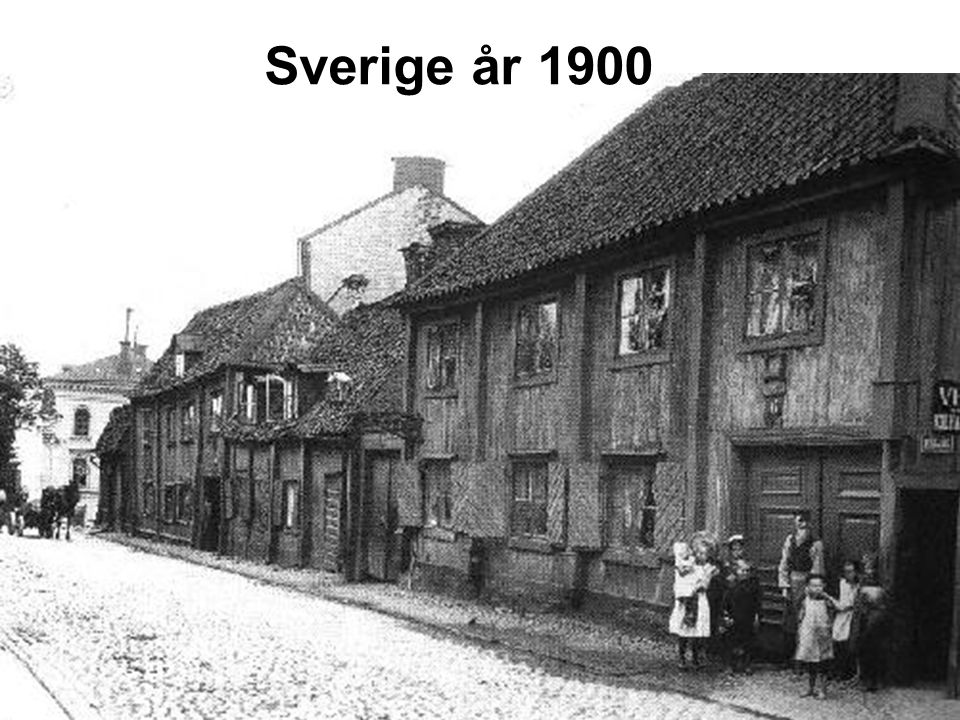 Sverige år 1900
