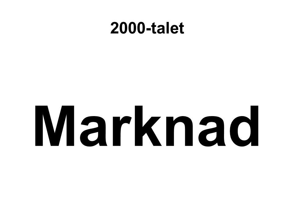 2000-talet Marknad