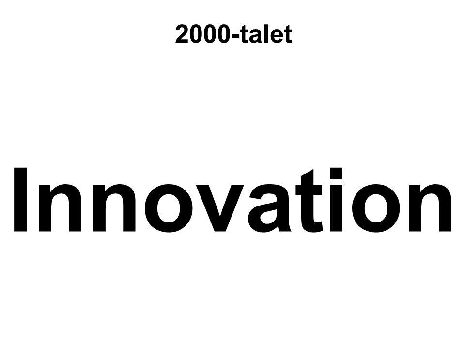 2000-talet Innovation