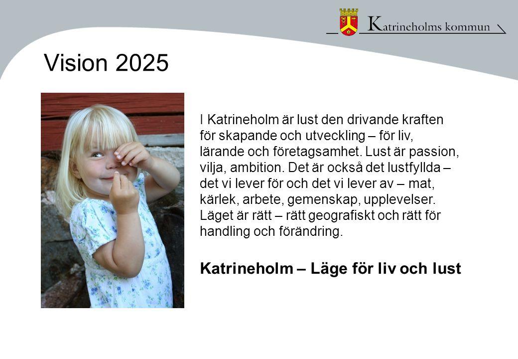 Vision 2025 Katrineholm – Läge för liv och lust