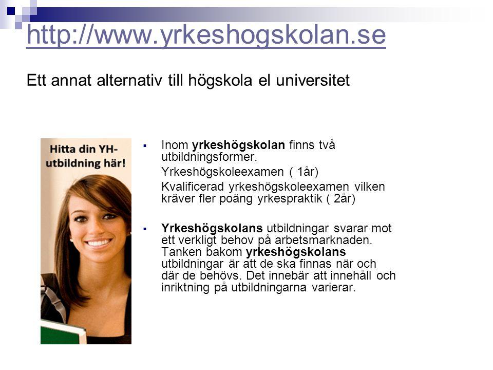 http://www. yrkeshogskolan