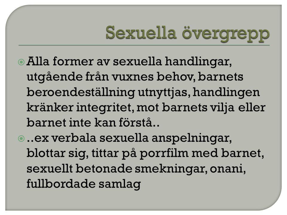 Sexuella övergrepp