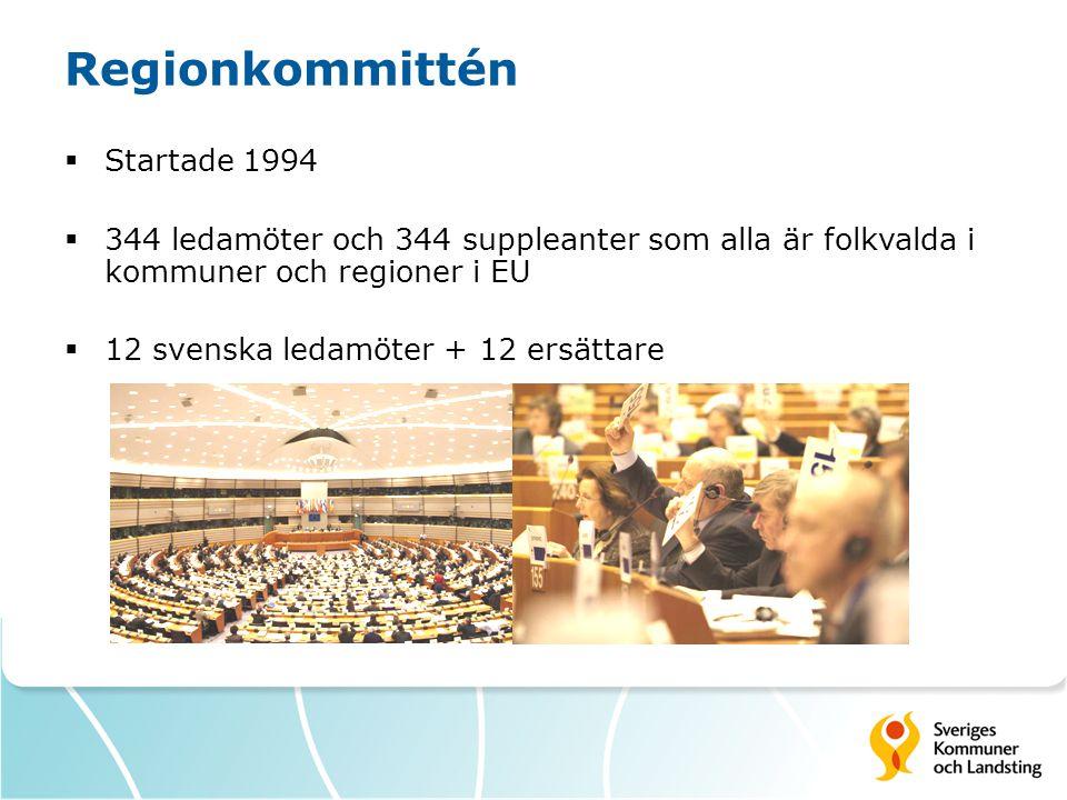 Regionkommittén Startade 1994