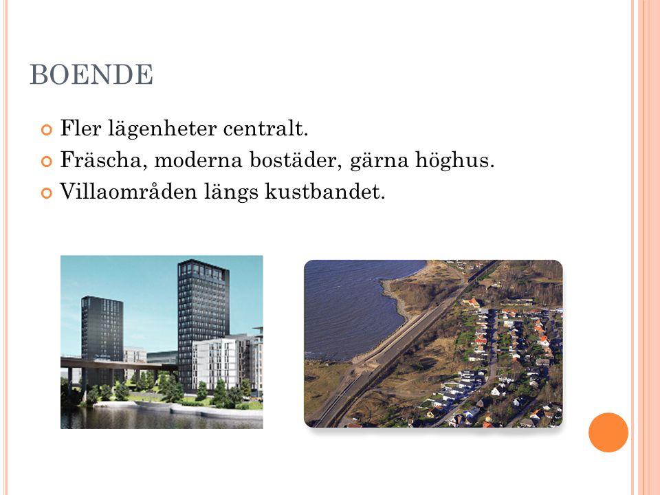 BOENDE Fler lägenheter centralt.