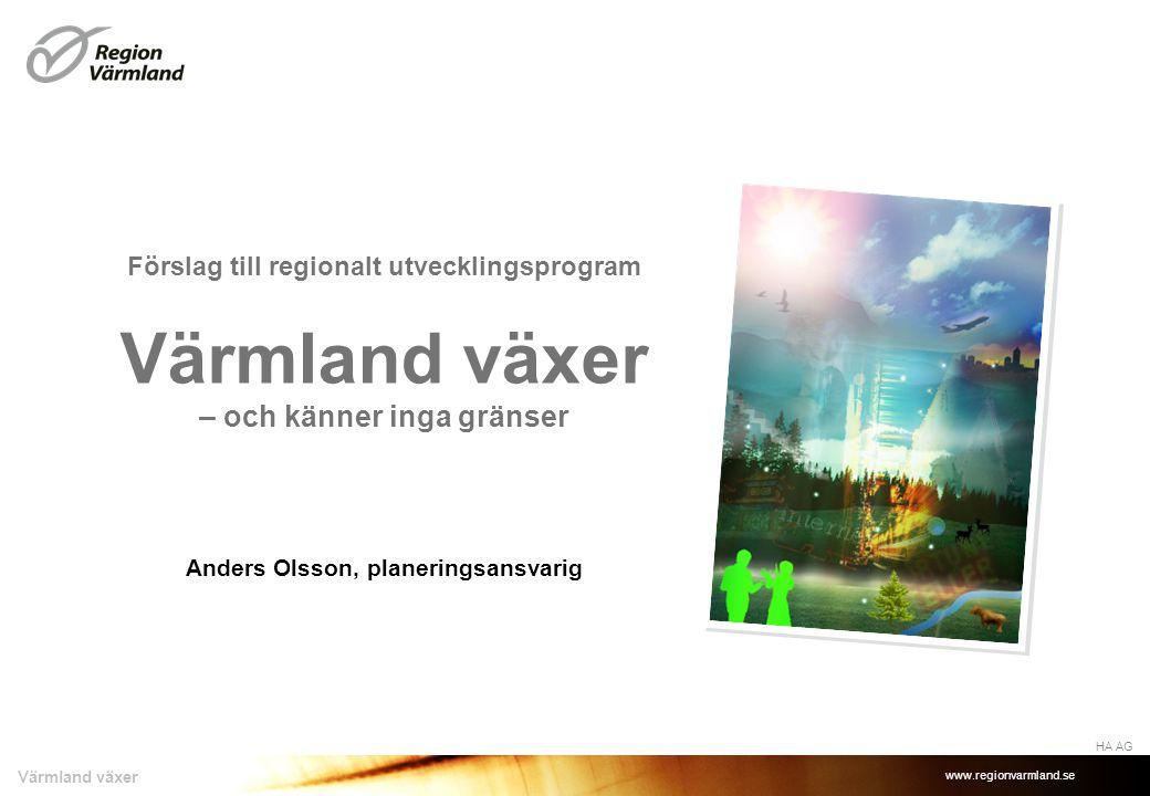 Anders Olsson, planeringsansvarig